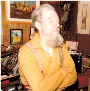 Harold at home
