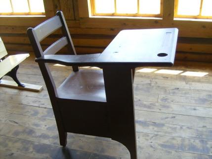 Dark Student Desk