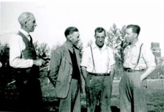 Hobden Brothers Jack, Bill, Bert and Harold