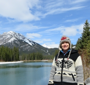 Me in Banff.