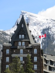 The Banff Springs Hotel.