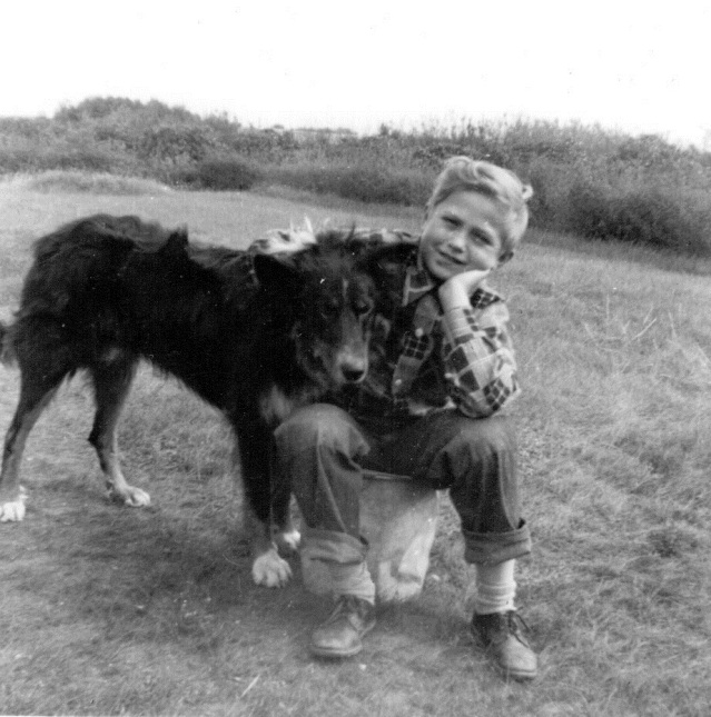 Richard and dog photo