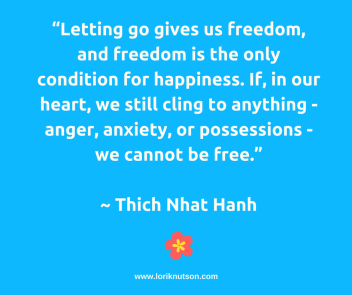 TNH Letting Go Quote