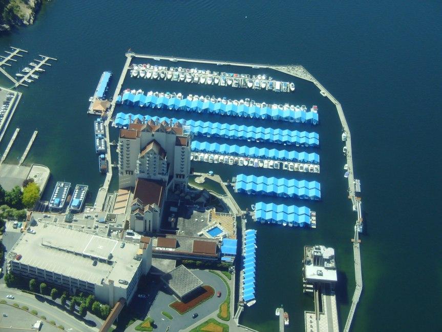 Aerial view of Coeur d'Alene Resort