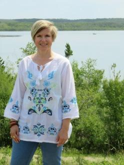 Me at Dillberry Lake, Alberta