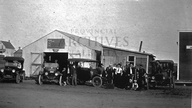 Prestlin Garage 1920