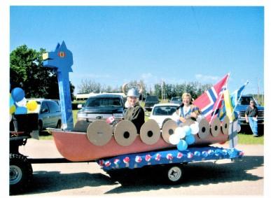 Viking Ship Hughenden Parade