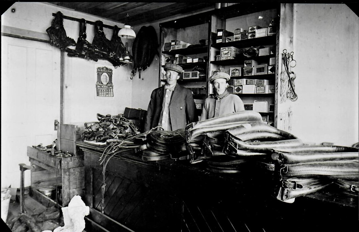 John and Peter Hovde Harness Shop