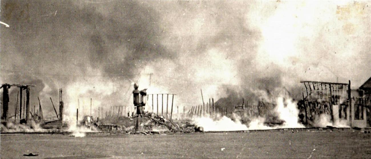 Smoking 1932 Fire