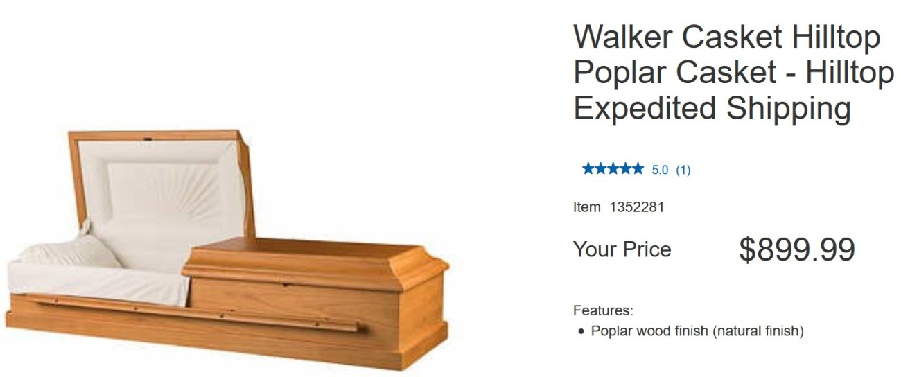 Walker Casket Hilltop